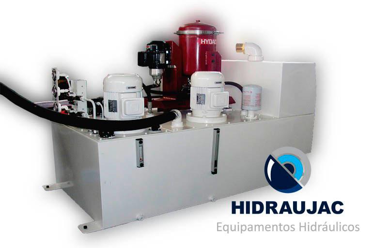 Manutenção em unidade hidráulica